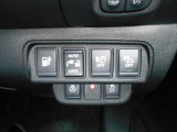 ハンドルヒーターや充電開閉などの集中スイッチ!