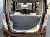 ラゲッジスペース。後席を前後にスライドできるので、積み込みスペースの調整が出来ます。