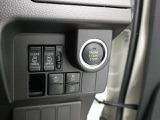 エンジンの始動、停止はプッシュボタンで。