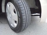 モコのタイヤサイズは、経済的な155/65R13タイヤ!残り溝も十分ございますよ!!