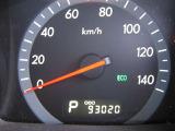 走行距離はおよそ93,000km
