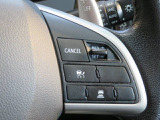 高速道路で便利な【追従式クルーズコントロール】も装着済み。アクセルを離しても一定速度で走行ができる装備です。加速減速もスイッチ操作でOKです。