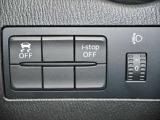 DSC(横滑り防止)OFFスイッチ、iーstop OFFスイッチ、ヘッドライト光軸調整