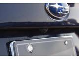 バックギア連動で作動する後部確認モニター。バックや駐車時も安心です。