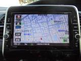 ニッサン後付純正メモリーナビゲーション(MM518D-L)!大きな9インチモニターで、地図もTVも見やすいんです!!