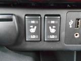 便利なシートヒーター付