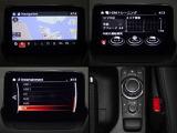 7インチセンターディスプレイにナビやフルセグTV(走行中は音声のみ)などのエンターテーメント機能を凝縮したマツダコネクト。