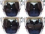 ラゲッジスペースはサードシートを格納すると大きな荷物を載せることも可能です!