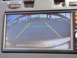 バックカメラがついてますので駐車も安心ですね☆