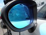 ブルーミラーで後続車のヘッドライトの眩しさも半減v^^v