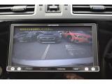 シフトをバックに入れれば、自動的に後方の映像がナビ画面に映し出されます。