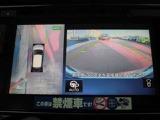アラウンドビューモニターまるで車を真上から映したような映像で、前後左右の感覚が分かります♪車庫入れや駐車時に大活躍の機能です。