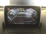 バックカメラで駐車時安心