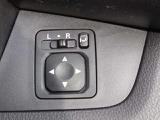サイドミラーの調節も運転席で簡単操作だから楽チン♪