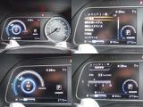 車両情報が一目でわかる多機能メーター!