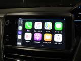 アップルカープレイ・アンドロイドオートともに対応しております。直感的に操作可能で、ステアリング手元のボタンで音声認識機能を呼び出すことも可能です。