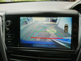 バックカメラ装備!後方の安全確認をサポートします。