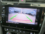 ■駐車するときにバックガイドモニターを見ながら安心して駐車できます!