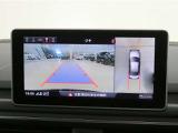 ■苦手な人が多い駐車場での車庫入れや狭い道でも大丈夫です/クルマの前後左右にカメラを設置してモニターで表示してくれるため、運転席から見えにくい場所を映し出してドライブをサポートします!