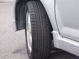 タイヤの溝も大丈夫です。