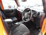 クライスラー ジープ・ラングラー アンリミテッド オレンジ 4WD