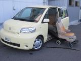 トヨタ ポルテ 1.5 150r ウェルキャブ サイドアクセス車 脱着シート仕様 Aタイプ
