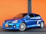 ルーテシア スポール V6 RSフェイズII正規D車F6速クルコン外マフラ-