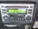 CD、MD、ラジオに対応したオーディオが付いています。