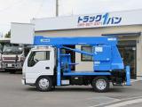 いすゞ エルフ 高所作業車