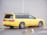 ステージア 2.5 25t RS FOUR Sパッケージ 4WD HDDナビ 車高調 SSR19AW 純正5速 エアロ
