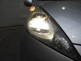 夜のドライブにたのもしいディスチャージヘッドライト暗くなると自動点灯オートライトコントロール機構付です