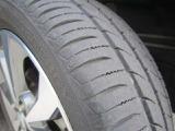 タイヤは全数同じような状態です。