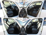 フロントシートです!運転席にはシートハイトアジャスターが装備されていますので、シートの高さの調整が可能です!小柄な方でもクッション等を敷かなくても前が見やすくなります!
