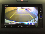 バックでの車庫入れも安心です! リアカメラが付いているバックモニター付のナビになってます。