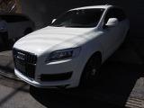Q7 4.2 FSI クワトロ アダプティブエアサスペンション仕様 4WD 3列シート7人ナビバッ...