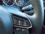 マツダレーダークルーズコントロール!前車を検知して車間を設定!速度を設定すれば追従いたします!全車速追従機能付です!