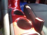 前席用のツインのカップホルダーがあります。