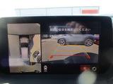 バックガイドモニター搭載。車両後方の物理的な死角を解消し、安心をサポートします。