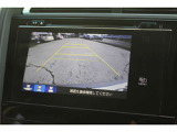 バックカメラ搭載で駐車時も安心です!♪