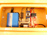 サブバッテリー 走行充電 外部電源 外部充電 400Wインバーター AC切り替えリレー