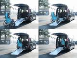 ステップワゴン  福祉車両 G スロープ 電動ウインチ ナビ 後席モニター