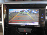 バックビューモニターです。バックや駐車が苦手な方の為、後方を直接見る事ができます。サポートとして重宝してもらえます!