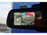 【360度ビューモニター】車両の前後左右に備えた計4つのカメラを活用し、車両上方から見たトップビューのほか、フロントビュー、リアビュー、左右サイドビューの映像をルームミラーに表示いたします!