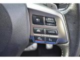 アイサイトの機能の一つで有りますオートクルーズの操作ボタンです。長距離運転ではドライバーの強い味方になります