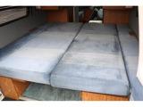 フロアベッドでは大人3人のベッドサイズです☆
