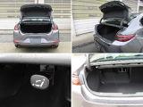 セダンのトランクには、67Lのスーツケーズ3個、または9インチゴルフバッグを2個収納できます。また、6:4の分割可倒式シートバックで段差のないフラットなトランクに。