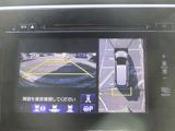 マルチビューカメラは、全方位をモニターに映し出すので、障害物の確認が可能!