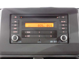 CDチューナー付です。お気に入りの音楽やラジオを流して楽しいドライブ☆
