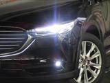 暗い夜道は『LED』のヘッドライトが明るく照らします。