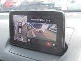 360度ビューモニターで車庫入れをサポート
